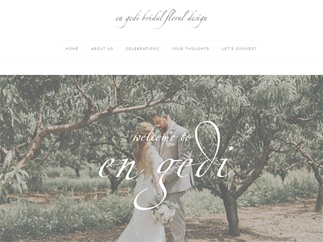 En Gedi Bridal home page