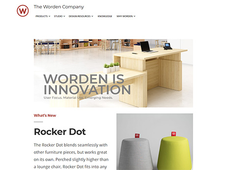 Worden Company home page