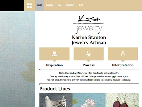 screenshot of www.kastfashion.com
